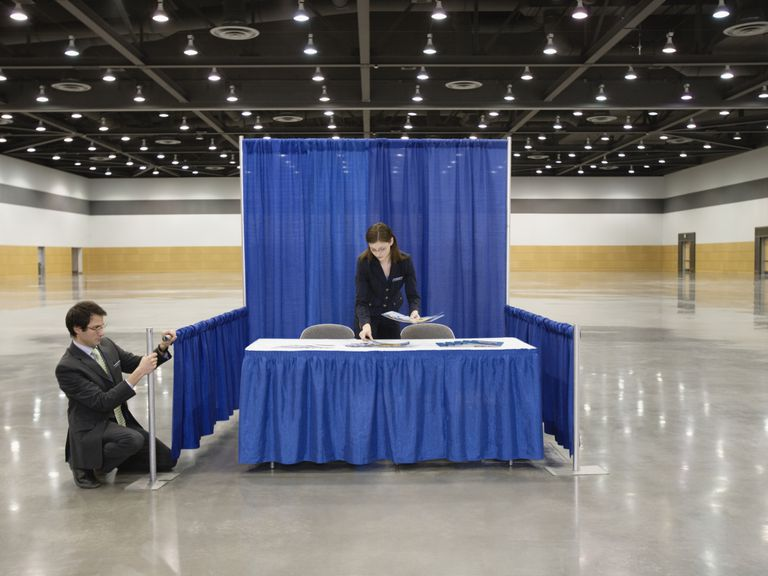 trade show booth ideas that can attract visitors
